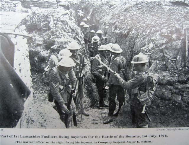 Primera Guerra Mundial: Batalla del Somme 1LFfixbayonetsBattleoftheSomme