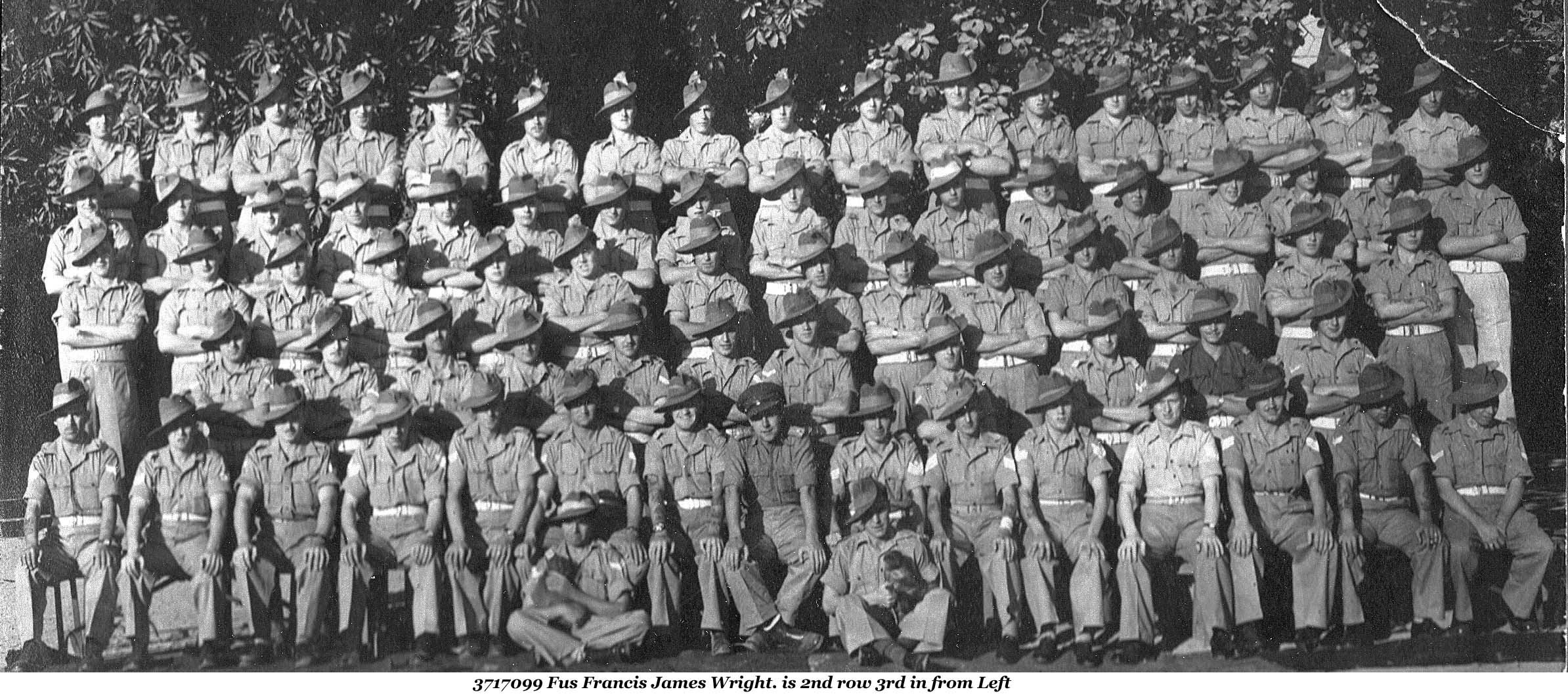 Lancashire fusiliers photographs 1st bn ww2