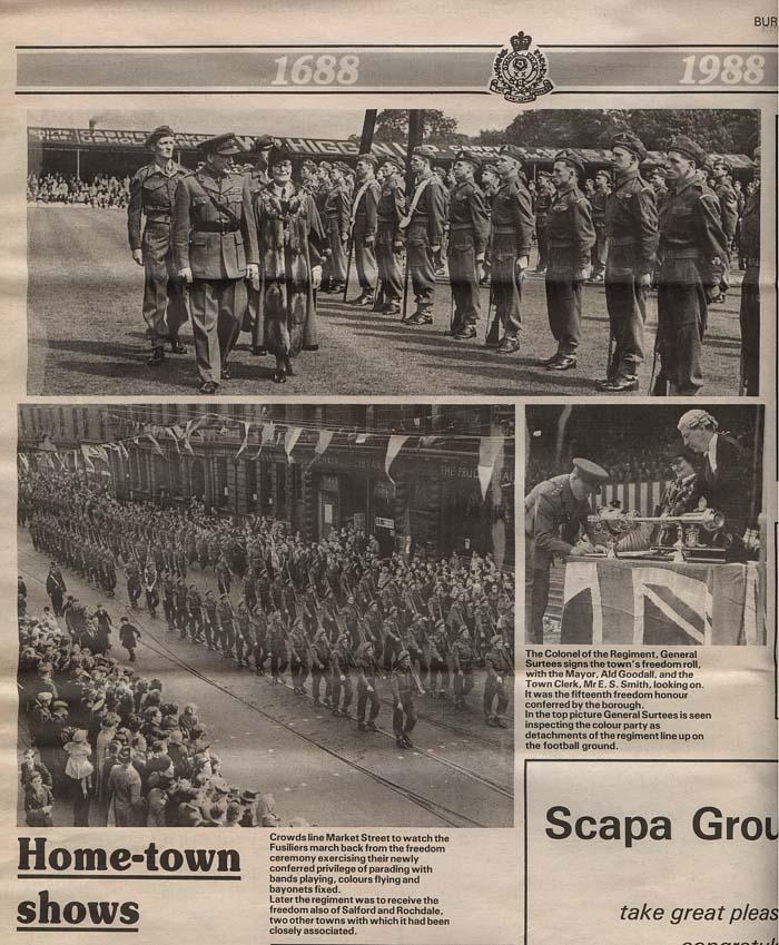 Salford City Programme Gainsborough: Freedoms